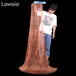 Casting Net Diameter 240/300/360/420/480/540/600/660/720M Hand Throw Network Small Mesh Fishing Nets Without Sinker