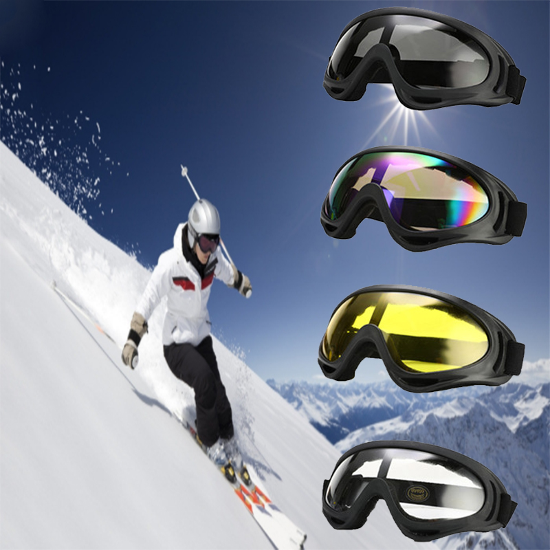 1pcs Windproof Skiing Glasses Anti-UV Goggles Outdoor Sports Cs Glasses Ski Goggles Dustproof Moto Cycling Sunglasses