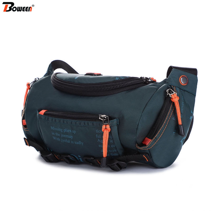 Waist Pack Men Casual Chest Bag Waterproof Waist Bags Male Fanny Pack Big Capacity Multifunctional Outdoor Sports Phone Pouch