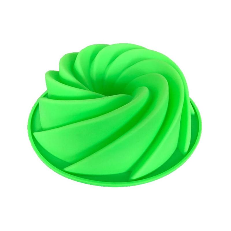 Kleine Größe Silikon Spirale Kuchen Form Schokolade Mould Backen Küche Werkzeuge - 5