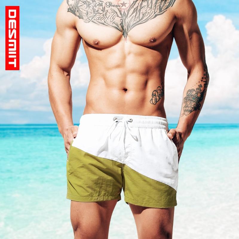 Quick Dry Summer Mens Swimwear Mens Beach Board Shorts Trunks Swim Shorts