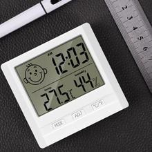 Цифровой термометр-гигрометр для измерения температуры в помещении и влажности на открытом воздухе для домашнего офиса (без батареи)