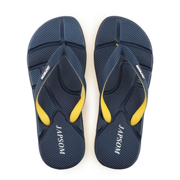 EPHER Mens Beach Flip Flops Drainage Slip On Gripper Sandals Anti Slip Bath Shower Poolside Footwear