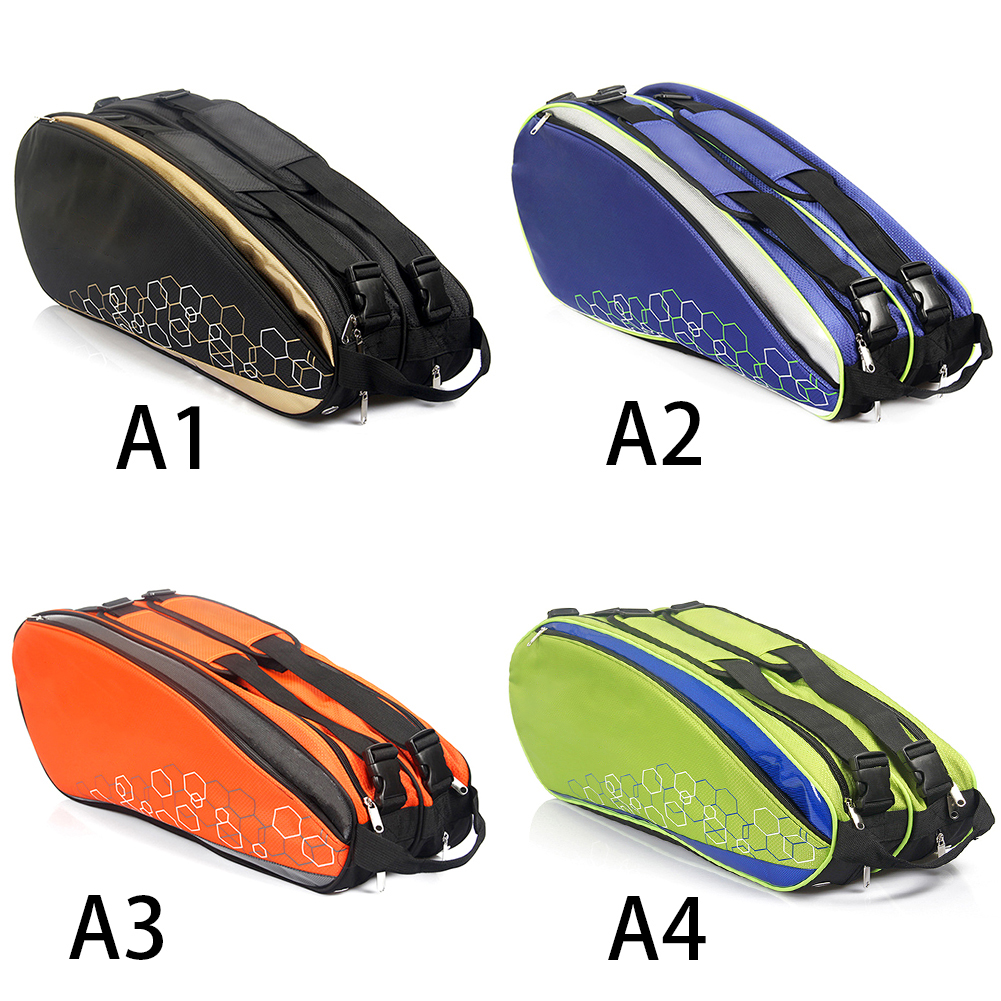 Waterproof Tennis Bag Professional Racquet Sports Bag Racket Backpack Badminton Bag Accessories Holding 6-12 Rackets New