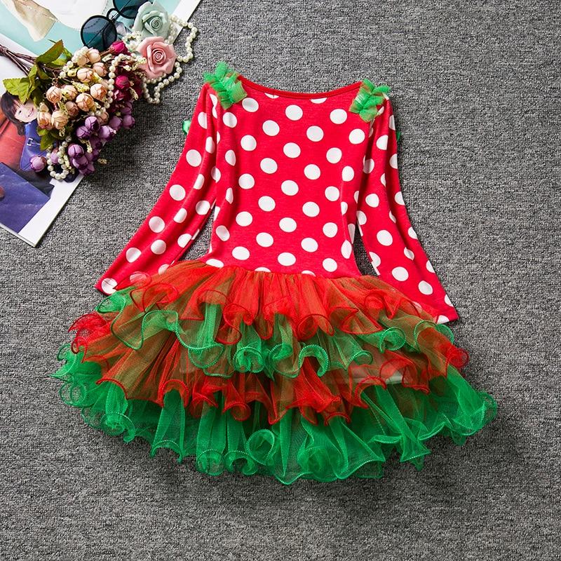 H936186be6a3544aca7a7be47f0f84087o 2019 Autumn Winter Girl Dress Long Sleeve Polka Dot Girls Dresses Bow Princess Teenage Casual Dress Daily Kids Dresses For Girls