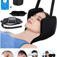 Hammock Neck-Head Free-Eye-Mask Cervical-Back Pain-Relief Elastic Safety for Text