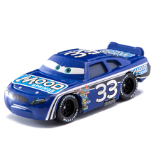 Cars Disney Pixar Cars  3 No.33 Racing Car Lightning McQueen Jackson Storm Cruz Mater  Diecast Metal Alloy Model Car Toy Gifts cars disney pixar cars 3 track parking lot lightning mcqueen mater plastic diecasts toy vehicles model car toys for children