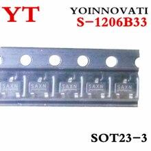 100 шт./лот S-1206B33-M3T1G S-1206B33 альт саксофон REG LINEAR 3,3 V 250MA SOT23-3 IC