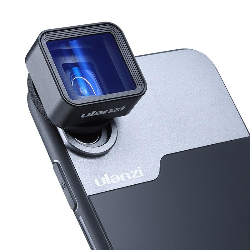 Lente anamórfica Ulanzi para iPhone 11 Pro 1.3x, pantalla ancha de vídeo, pantalla panorámica Slr, película Videomaker, lente Teléfono universal - 2