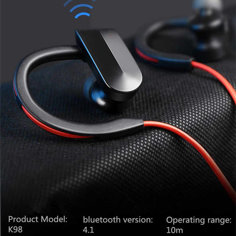 אוזניות EarHook ספורט Bluetooth אוזניות אוזניות אור משקל בס ריצה אוזניות Forsmart טלפון אוזניות עבור iphone אנדרואיד