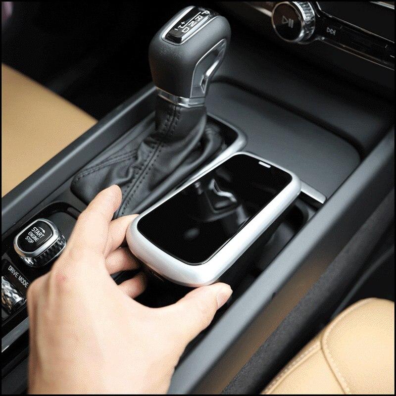 Caricabatteria da Auto Senza Fili per Volvo Xc90 Xc60 S90 V90 C60 V60 2018 2019 Del Telefono Mobile di Ricarica Piatto di Accessori per Auto - 6