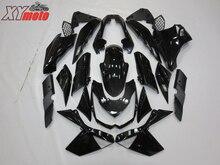 Injection ABS Plastic Fairings For Kawasaki Z1000 10 11 12 13 Motorcycle Fairing Kit Z1000 2010-2013 Gloss Black Bodyworks цена