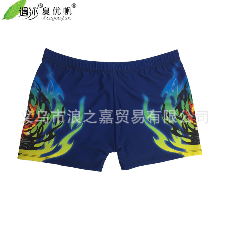 New Style Swimming Trunks Men Beach Boxer Fashion Comfortable Swimming Trunks Swimwear Tiger Printed