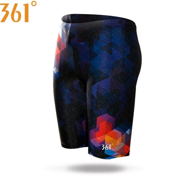 361 Men Swimwear Tight Swim Trunks Plus Size Quick Dry Swimming Shorts Mens Swimsuit Boys Short Swimwear Pants Wholesale