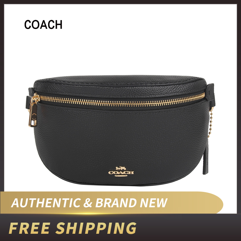 Authentic Original & Brand New COACH Fanny Pack In Pebble Leather 39939