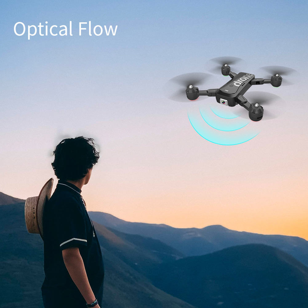 cheapest 1080P 4K Quadcopter Flying Toys Dual Cameras Adjustable Angle Drone Folding Visual Positioning Optical Flow Aerial Photography
