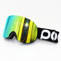 POC brand Lid ski goggles Double layers anti fog lens big ski mask glasses skiing men women snow snowboard Clarity Retina