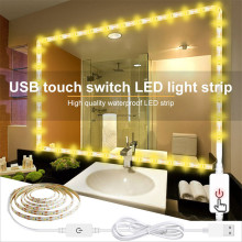 1m 2m 3m 4m 5m DC 12V LED Strip Light With PIR Motion Sensor SMD 2835 60 LEDs/m Smart OFF/ON Night Light Closet Cabinet Stairs
