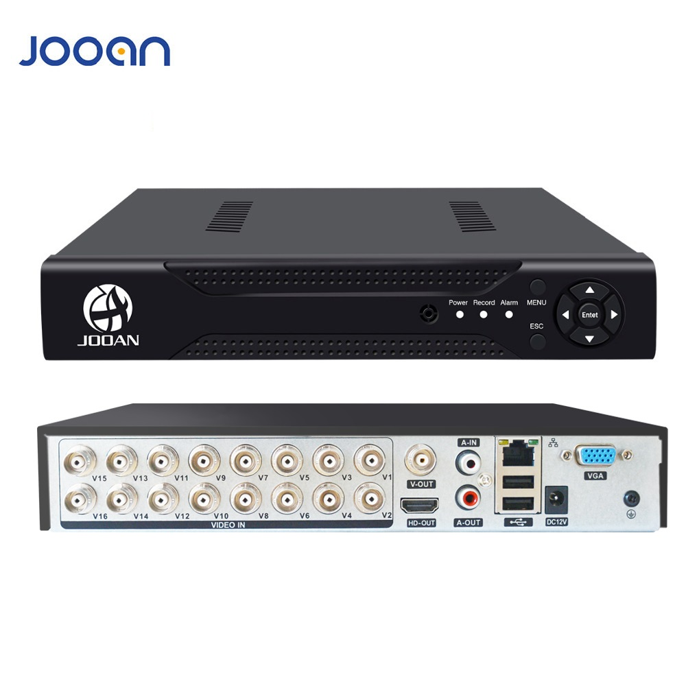 JOOAN 4CH 8CH 16CH CCTV DVR Security System 1080N H.264 HD-Output P2P Hybrid 5 In 1 Onvif IP Camera TVI CVI AHD Video Recorder