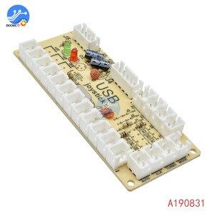 Image 3 - 1 個のゼロ遅延アーケードのusbエンコーダpcジョイスティックアーケードロッカー回路ボード制御パネルmameゲーム