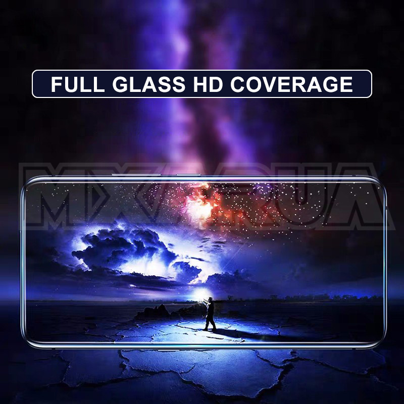 Image 3 - 9D Full Cover Tempered Glass on the For Xiaomi Redmi Note 8 7 6 Pro Redmi 8 8A 7 7A 6 Pro 6A Go K20 Screen Protector Glass FilmPhone Screen Protectors   -