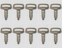 10 הצתה מפתחות עבור קובוטה מחפר מיני R420 R520 K008 ו Kx41 # RC101 53630