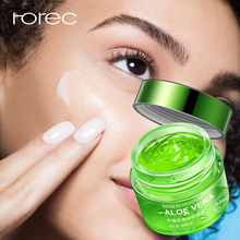 ROREC Aloe Vera Sleep Face Mask Shrink Pores Hyaluronic Acid Moisturizing Blackhead Remover Oil Control Plant Skin Care