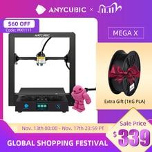 Anycubic 3D Printer Mega X 300*300*305Mm Printers Mega X Grote Maat Meanwellpower Supply 3d Impressora