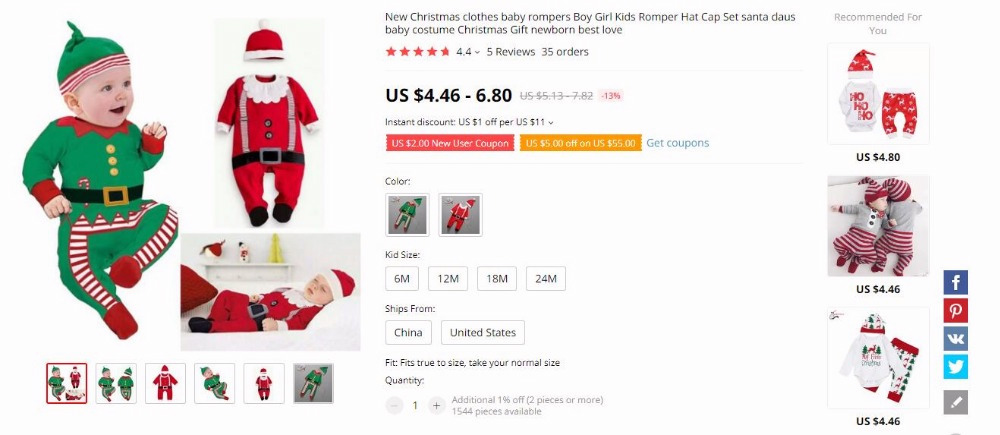 H9363c5e978434f338eba5139fd77e947u Baby Winter Clothes Newborn Infant Baby Boy Girl Romper Tops+Pants Christmas Deer snowflake Outfits Set baby christmas clothes