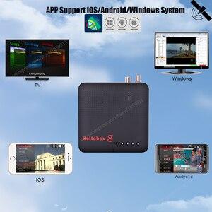 Image 4 - Новый спутниковый приемник Hellobox 8, ресивер стандарта DVB S2, комбинированный ТВ приставка, тюнер, поддержка ТВ проигрывания на телефоне, спутниковый ТВ приемник DVB S2X H.265