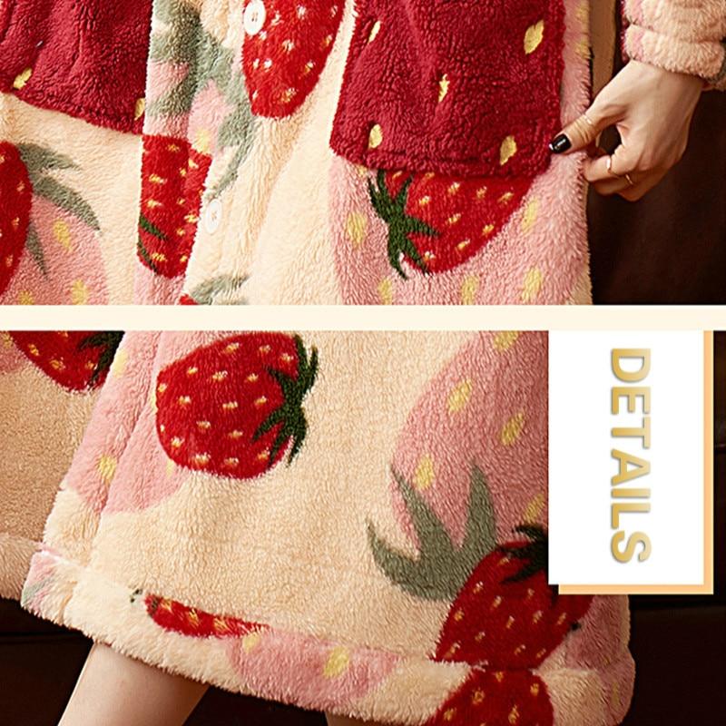 Kawaii Cozy Winter Nightgown 5