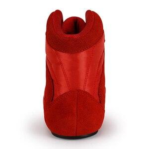 Image 3 - حذاء احترافي لرفع الأثقال من TaoBo للرجال والنساء حذاء للتدريب على القرفصاء مصنوع من الجلد مضاد للانزلاق ومقاوم للرفع الأثقال مقاس 36