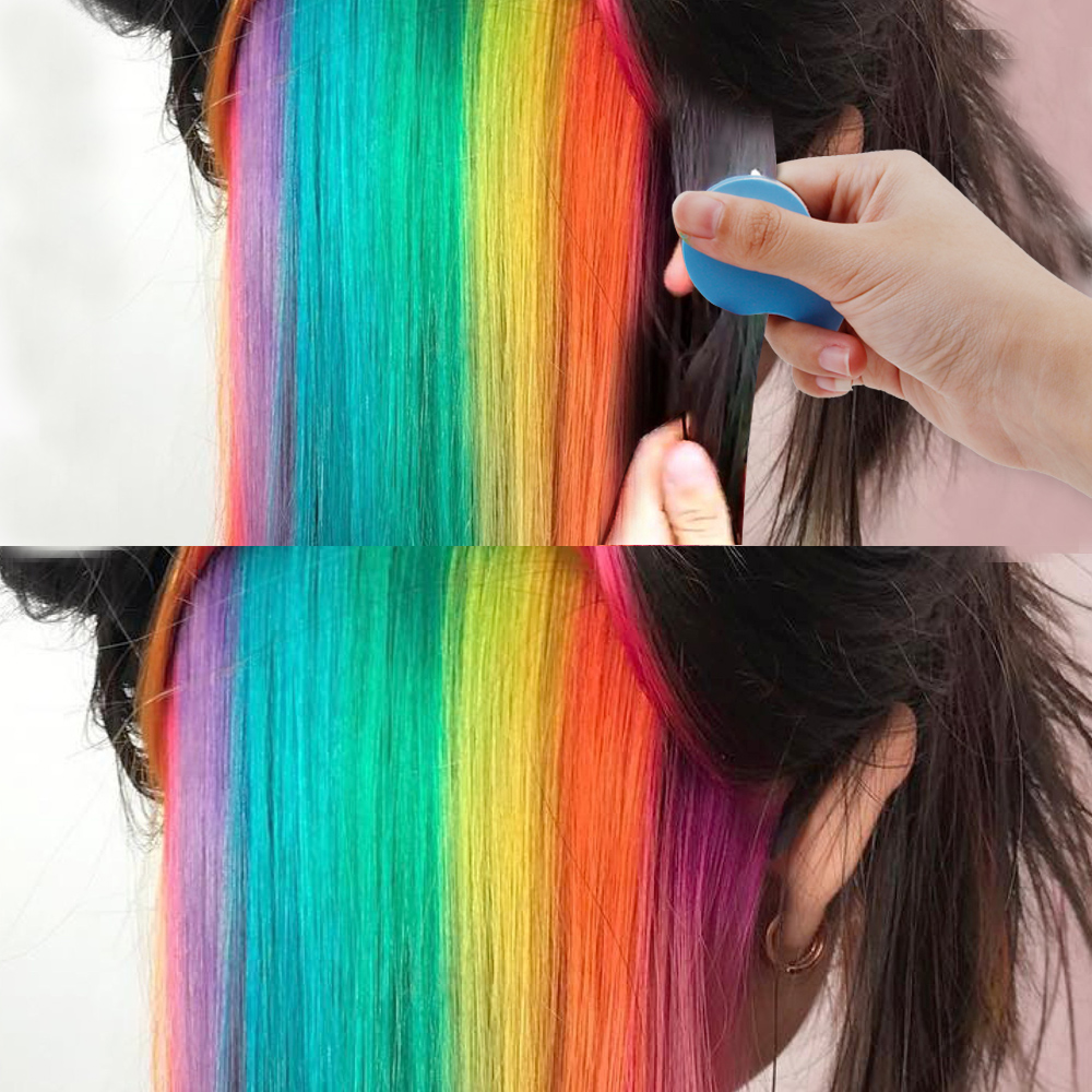 8 Colors Hair Chalks Powder DIY Temporary Women Hair Color Pastels Salon Styling Tool Portable Paint Beauty Dye Styling Accessor 2