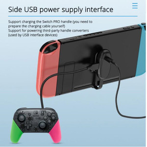 Image 2 - Nintend Switch 2 in 1 Charging and OTG Adapter extension Cable Type C to USB Cord No Need Driver For Nintendo Switch Accessories