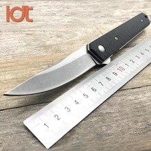Ldt kwaiken faca dobrável VG 10 lâmina g10 lidar com acampamento sobrevivência caça dobrável bolso ao ar livre tático ferramenta edc