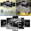 5pc Canvas Print Painting Fashion Retro Motorcycle Pattern Wall Art Canvas Hanging Wall Pictures For Living Room No Framed F1230 3