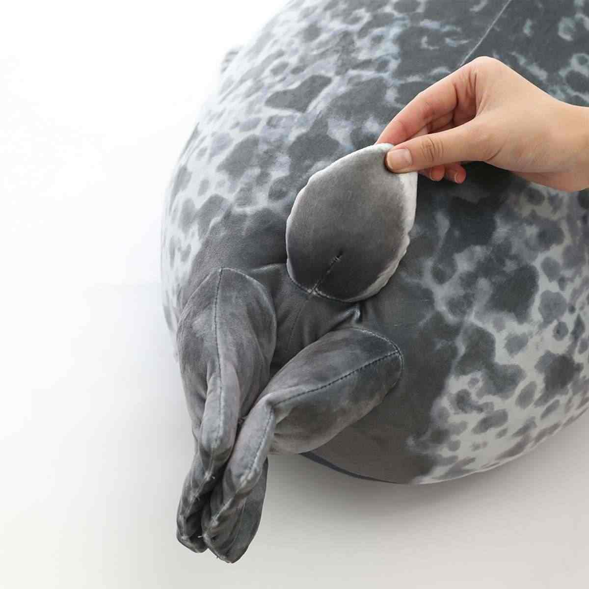 สิงโตทะเลน่ารัก Plush ของเล่น 3D ความแปลกใหม่โยนหมอน Soft Seal Plush ตุ๊กตา Plush พิธีขึ้นบ้านใหม่ PARTY หมอน