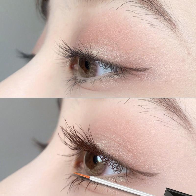 SENANA EGF Eyelash Growth Serum Vitamin E Eyelash Enhancer Longer Fuller Thicker Lashes Eyelashes Eyebrows Enhancer Eye Care 7Ml 3