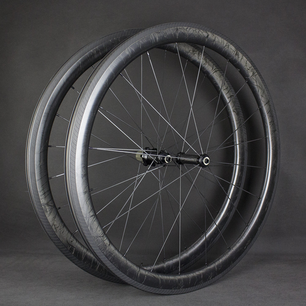 Strong Road Bike Wheels Carbon Road Bicycle 2020 Custom Marble Wheels 50Mm Aero Road Bike Racing Straight Pull Hub Promotion|Rims| |  -
