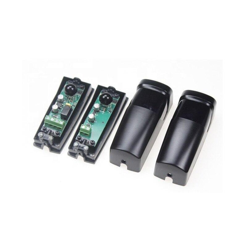 Fotocellule a infrarossi per esterni con sensore a infrarossi da 12m fotocellule a infrarossi fascio di sicurezza per apriporta garage scorrevole