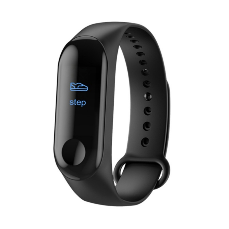 M3 Smart Wristband For Bluetooth 4.0 Multi-function USB Rechargeable Touch Control Heart Rate Pressure Sleeping Monitor Watch