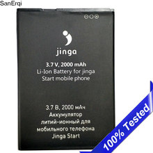 Original for Jinga Start battery 2000mAh Rechargeable Mobile Phone Replacement(China)