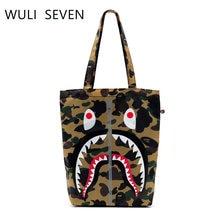 Wuli seven новинка сумка для покупок с 3d изображением животных