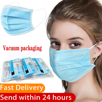 Disposable Masks 3-Ply Blue Filter Face Mask Non-woven Anti Dust Mouth Protect Masks Masque Respirator Free Shipping In Stock free shipping 5pcs fa5571n in stock