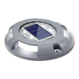 Image 1 - Уличный водонепроницаемый фонарь на солнечной батарее, садовый наземный светильник для безопасности, для ступенек, тротуаров, лестниц, садовых наземных дорожек, Прямая поставка