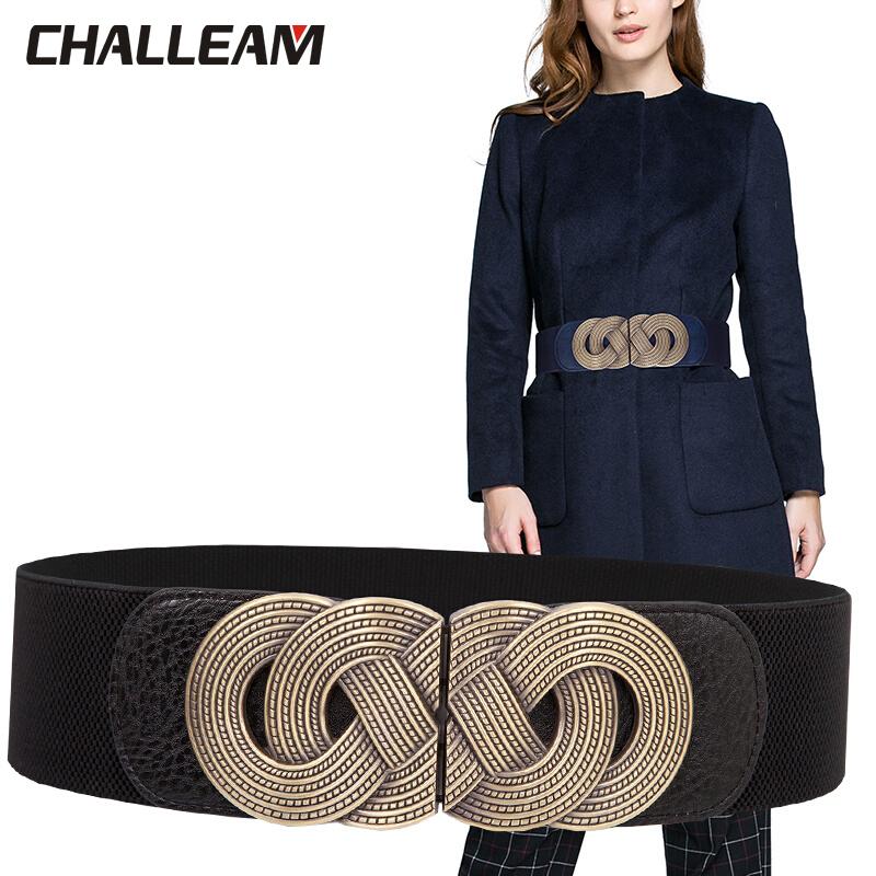 Woman elastic band simple waist bohemian elastic ladies coat skirt dress dress fashion decorative belt x 218
