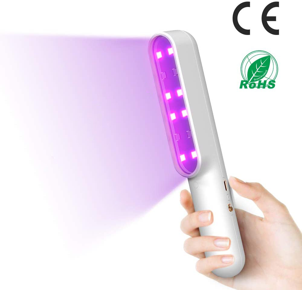 UV Sterilizer Light Disinfection Bactericidal Lamp Ozone Sterilizer Mites Lights UVC Sanitizer For Baby Clothes Bedroom Wardrobe