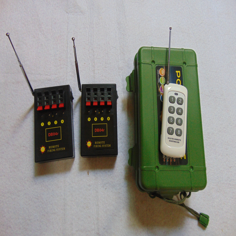 Fireworks firing system smart  switch wireless remote Digital remote Rapid Fire