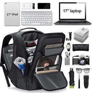 Image 3 - Rowe الذكور متعددة الوظائف على ظهره USB شحن الأعمال حقيبة ظهر للسفر مكافحة سرقة مقاوم للماء 15.6 بوصة محمول الظهر حزمة Mochila