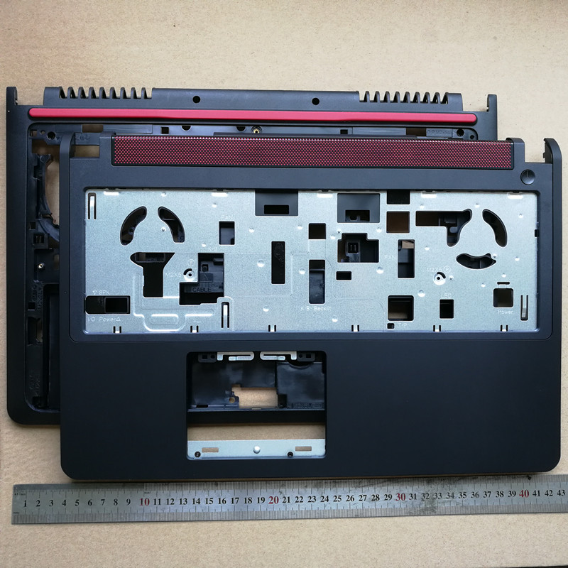 New Laptop Upper Case Base Cover+bottom Case For DELL 15P 5576 5577 7000 7557 7559 P57F